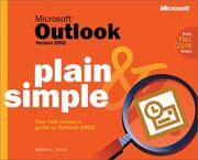 Microsoft Outlook Version 2002 Plain & Simple (Cpg-Other)
