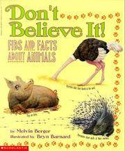 image of Don't Believe It: Fibs and Facts About Animals
