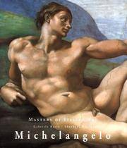 Michelangelo (Masters of Italian Art) by Gabriele Bartz - Hardcover - 1st - 1998-10-01 - from Ergodebooks and Biblio.com