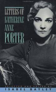 Letters Of Katherine Anne Porter
