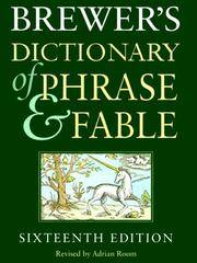 Brewer\'s Dictionary Of Phrase and Fable