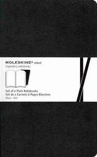 Moleskine Volant Journal (Set of 2), Large, Plain, Black (5 x 8.25) by L - from Magers and Quinn Booksellers and Biblio.com