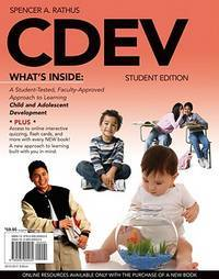 CDEV (with Review Card and CourseMate with eBook, 1 term (6 months) Printed Access Card) (Available Titles Coursemate)