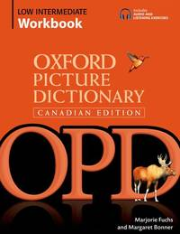 Oxford Picture Dictionary Canadian Edition Low Intermediate Workbook