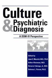 Culture and Psychiatric Diagnosis: A DSM-IV Perspective