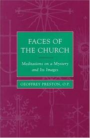 Faces of the Church: meditations on a mystery and its images. Texts prepared by Aidan Nichols....