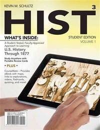 HIST, Volume 1 : US History through 1877