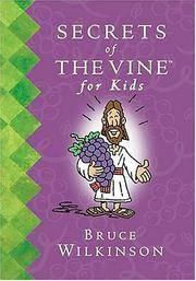 image of Secrets of the Vine for Kids