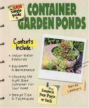 The Super Simple Guide To Container Garden Ponds