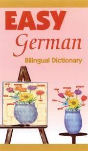 Easy German Bilingual Dictionary