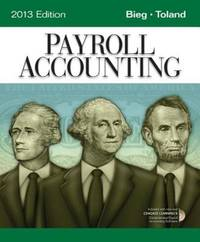 Payroll Accounting 2013 Edition (Pb 2013) (SPL PRICE)