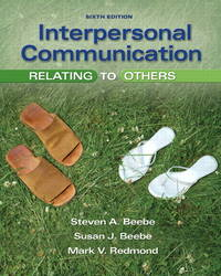 image of Interpersonal Communication: Relating to Others (6th Edition)