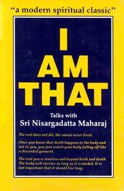 image of I Am That: Talks with Sri Nisargadatta Maharaj