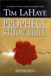 image of Prophecy Study Bible: New King James Version Bonded Burgundy