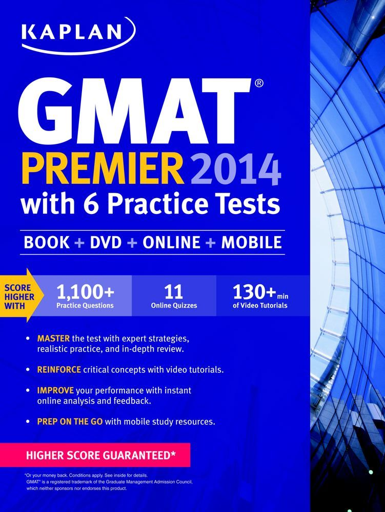 Score higher on the GMAT with the GMAT prep course that brings you the most realistic practice for test day and more live instruction than anyone else. Get GMAT prep from Kaplan in a classroom near you, live online, on-demand, or with a private tutor.
