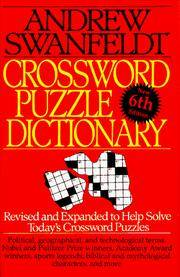 Crossword Puzzle Dictionary: 6th Edition