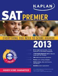 Kaplan SAT 2013 Premier with CD-ROM