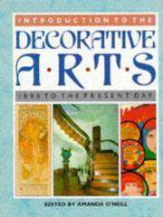 Introduction to the Decorative Arts to The (A Quintet book)