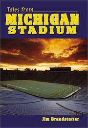 Tales from Michigan Stadium by Jim Brandstatter - Hardcover - 2002-08-01 - from Ergodebooks and Biblio.com