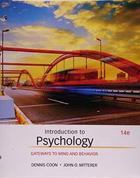 image of Introduction to Psychology: Gateways to Mind and Behavior