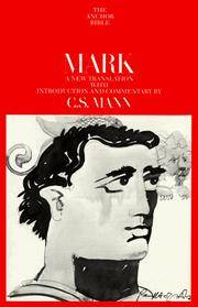 Mark: A New Translation with Introduction and Commentary (The Anchor Bible, Vol. 27)