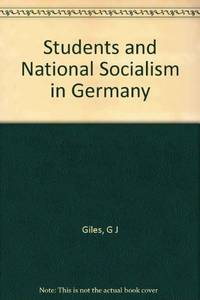 Students and National Socialism in Germany