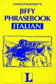Langenscheidt's Jiffy Phrasebook Italian