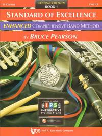 PW21CL - Standard of Excellence Enhanced Book 1 - Clarinet [Sheet music] Bruce Pearson