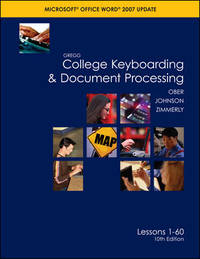 Gregg College Keyboarding & Document Processing: Word 2007, Kit 1, Lesson 1-60