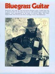image of BLUEGRASS GUITAR  Instruction and Songs for Lead and Back-up Bluegrass Guitar