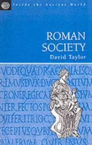 Roman Society (Inside the Ancient World)