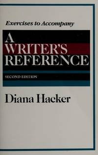 image of A Writer's Reference (Exercises to Accompany)