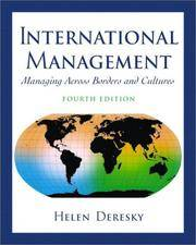 image of International Management: Managing Across Borders and Cultures