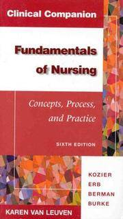 image of Clinical Companion for Fundamentals of Nursing (6th Edition)