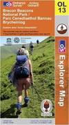 image of Brecon Beacons National Park: Eastern Area (OS Explorer Map)