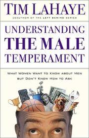 image of Understanding the Male Temperament: What Women Want to Know About Men but Don't Know How to Ask
