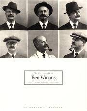 The Photography of Ben Winans of Brookville, Indiana, 1902-1926.