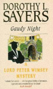 Gaudy Night (Lord Peter Wimsey Mystery)