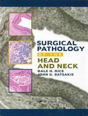 Surgical pathology of head and neck
