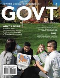 GOVT, 4th, Student Edition