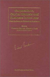 Corporations, Capital Markets and Business in the Law: Liber Amicorum Richard M.Buxbaum