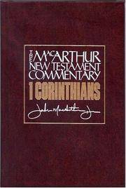 1 Corinthians MacArthur New Testament Commentary (MacArthur New Testament Commentary Series)