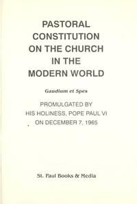 Past Const Church in Modern World