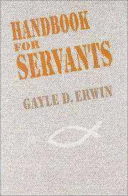 Handbook for Servants