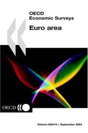 OECD Economic Surveys: Euro Area by OECD - Paperback - 2000-09-05 - from Books Express and Biblio.com