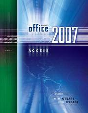 Microsoft Office Access 2007 Brief (MICROSOFT OFFICE ACCESS; the O'Leary)