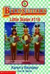 image of Karen's Reindeer (Baby-Sitters Little Sister #116)