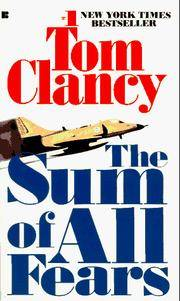 image of The Sum of All Fears (Jack Ryan Novels)