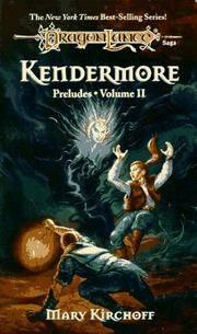 KENDERMORE (Dragonlance: Preludes)