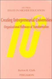 Creating Entrepreneurial Universities